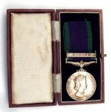 GSM with Borneo Clasp to the Argyll & Sutherland Highlanders